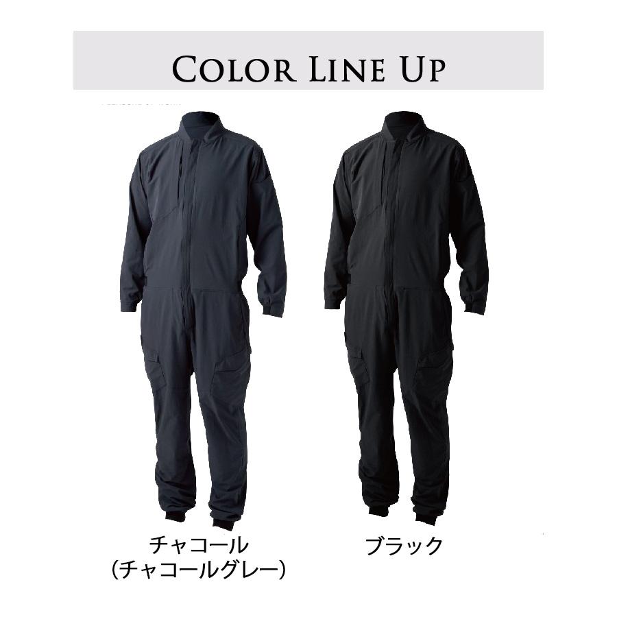 藤和/TS 4D オーバーオール/9110/男女兼用/のらぎや/カラーバリエーション
