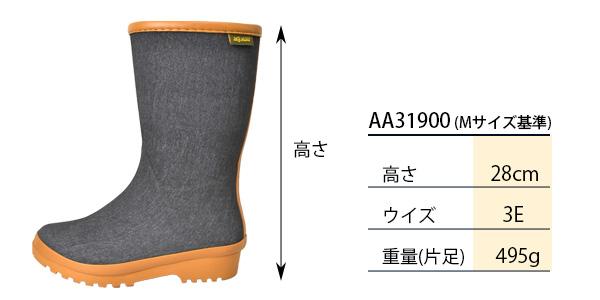 AA31900サイズ表