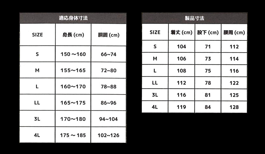 CR8050サイズ表