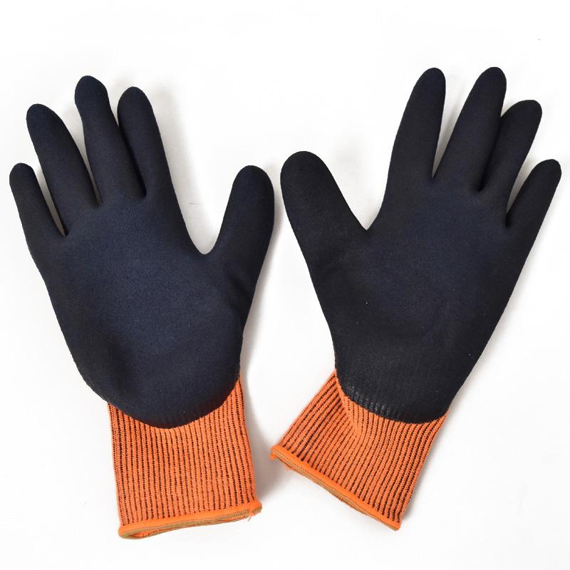 ユニワールド/ワンダーグリップ サーモライト/手袋/防寒手袋/WG320/のらぎや/手のひら