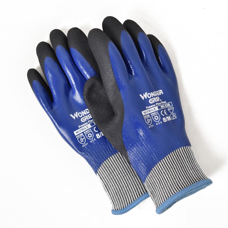 ユニワールド/ワンダーグリップ フリーズフレックスプラス/手袋/防寒手袋/WG538/防水/のらぎや/本体
