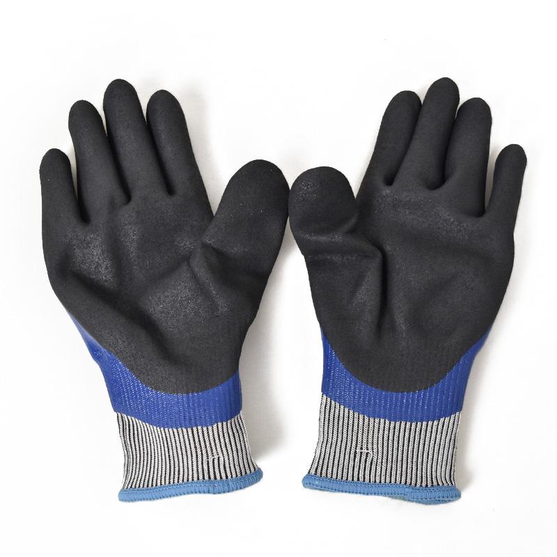 ユニワールド/ワンダーグリップ フリーズフレックスプラス/手袋/防寒手袋/WG538/防水/のらぎや/バックコート